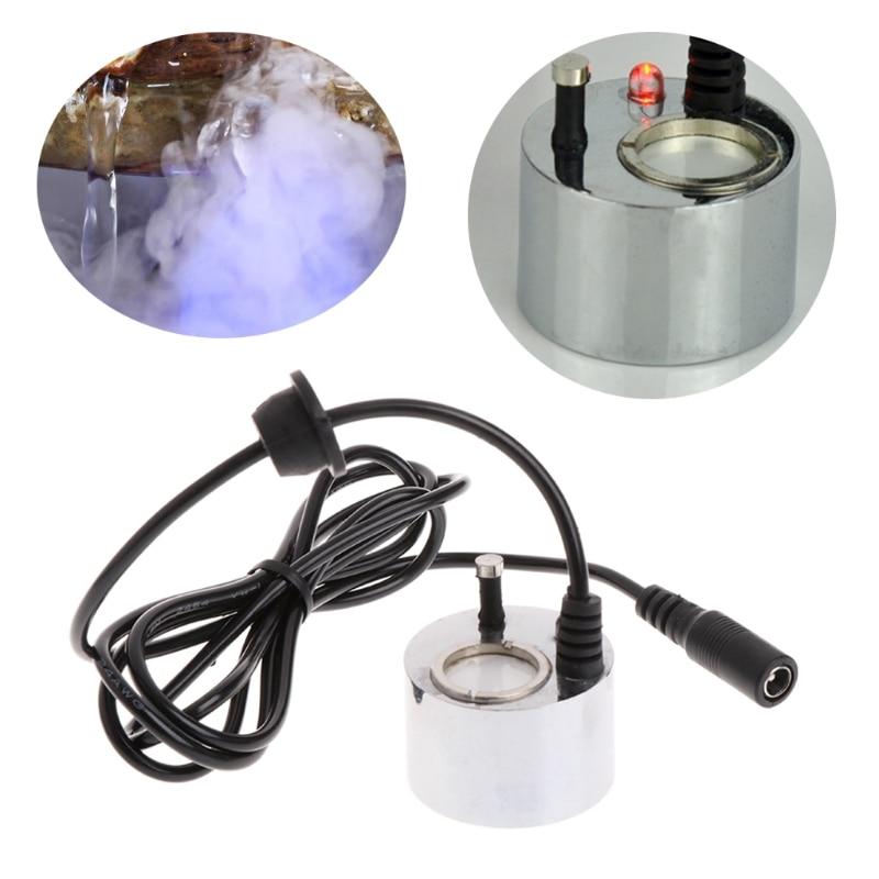 Ultrasonic Mist Maker Fogger Water Fountain Pond Atomizer Air Humidifier Decor