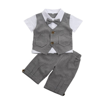 2-10T Toddler Boys Clothes Summer 2019 Boutique Kids Clothing sets Little Boy Clothes Good Quality Sets