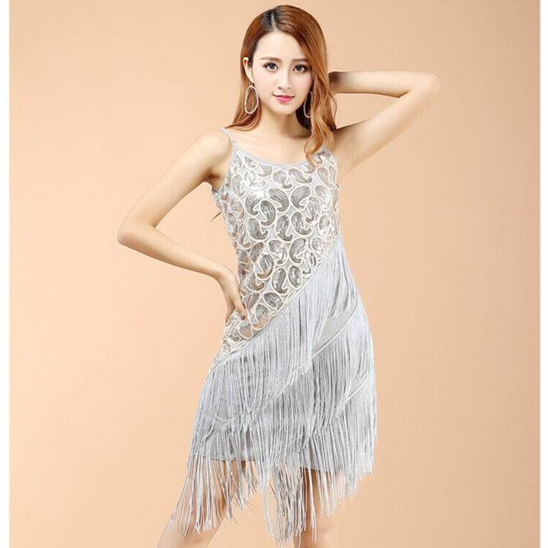 Adult Women/'s 1920S Paisley Art Deco Sequin Tassel Glam Party Gatsby Dress up