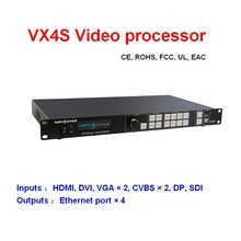 VX4S Novstar led ビデオプロセッサプロ led ディスプレイレンタル用 led ディスプレイ