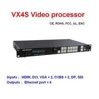 VX4S Novstar led video processor professional LED display controller for rental LED display