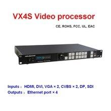 VX4S Novstar procesador de vídeo led, controlador de pantalla LED profesional para alquiler de pantalla LED