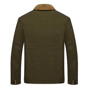 Image 4 - 2020 New Fashion Autumn Winter Bomber Jacket Men Warm Military Pilot Tactical Mens Autumn Jacket Coat
