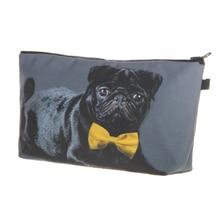 Fashion Women Brand Cosmetic Pug Bag