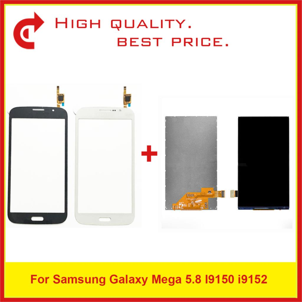"""ORIGINAL 5.8"""" For Samsung Galaxy Mega 5.8 I9150 i9152 Lcd Display with Touch Screen Free Shipping+Tracking Code-in Mobile Phone LCD Screens from Cellphones & Telecommunications"""