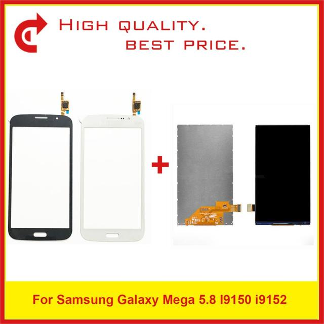 """ORIGINAL 5.8"""" For Samsung Galaxy Mega 5.8 I9150 i9152 Lcd Display with Touch Screen Free Shipping+Tracking Code"""