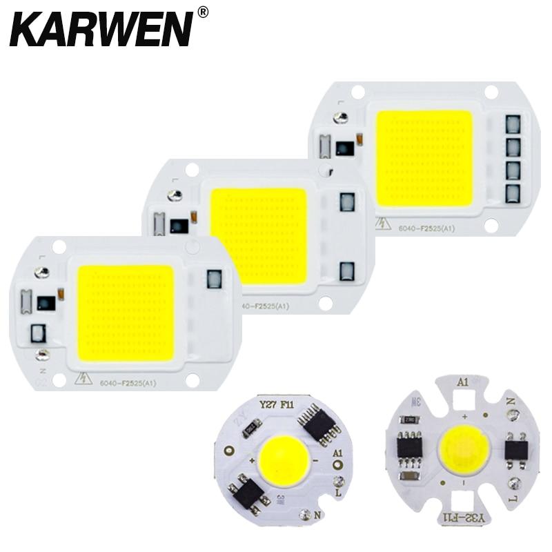 COB LED Chip Light 220V 10W 50W 20W 30W 3-9W Rectangular Chip Lamp For Spotlight No Need Driver DIY Led Floodlight Lamp Y27 Y32
