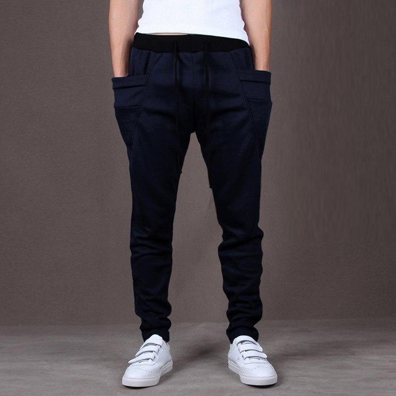 Summer  Autumn Men's Pant Men's Sports Harem Pants Trousers Casual Fashion Baggy Stylish Hip Hop Jogger M-2xl Multi-pocket
