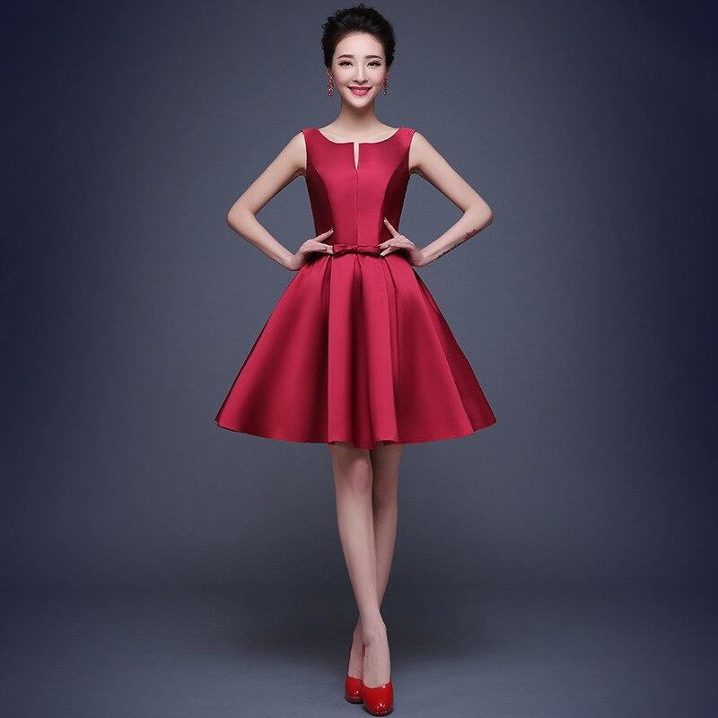 Compra rosa vestidos de dama de honor online al por mayor de China ...