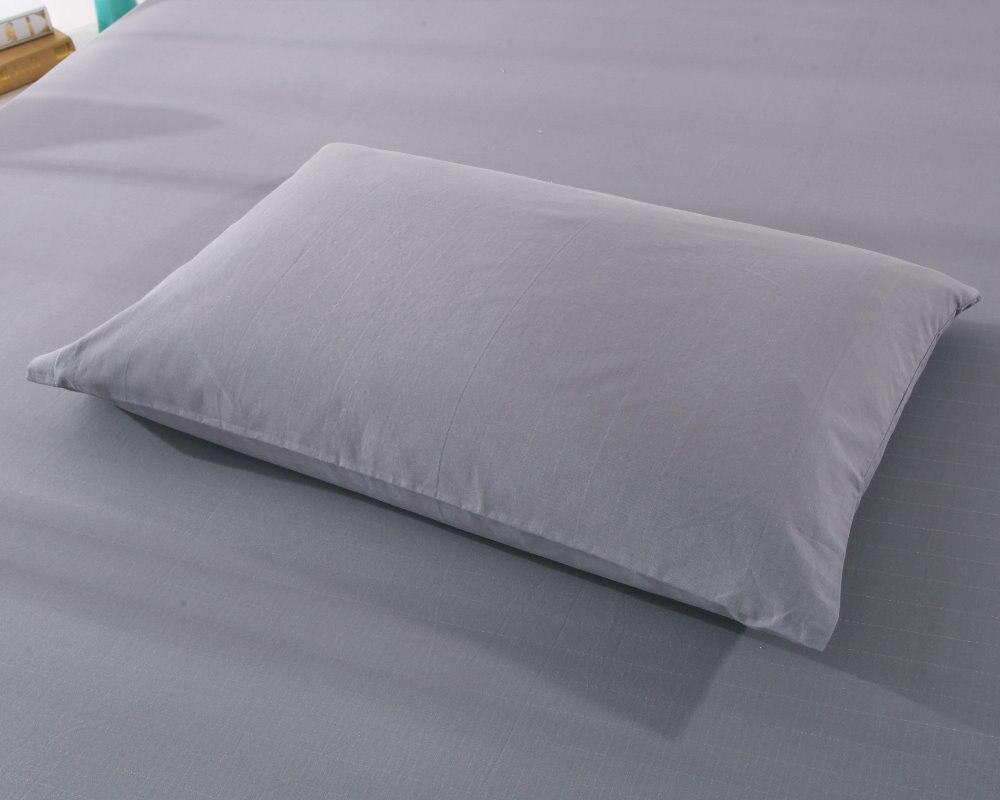 Funda de almohada para orejeras (50x75 cm) juego de 2 piezas de algodón conductivo de plata revitalizan y revitalizan el color gris-in Funda de almohada from Hogar y Mascotas    2