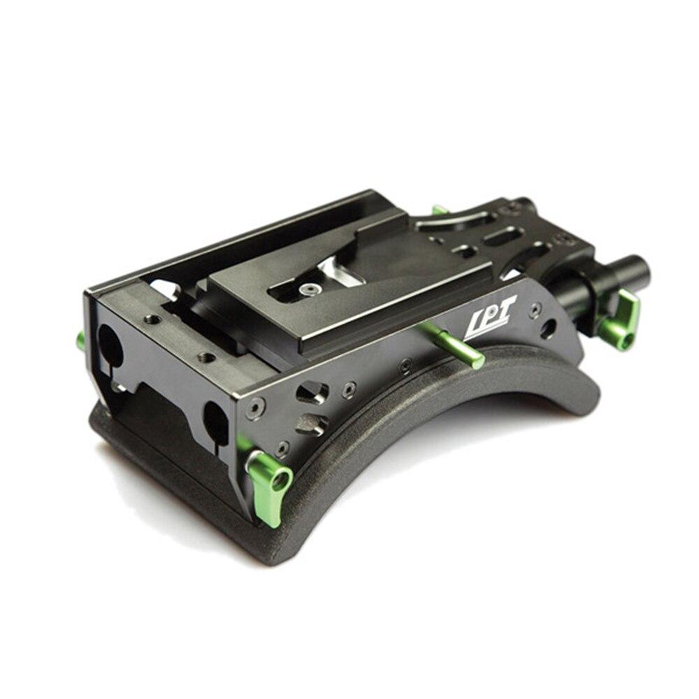 Lanparte V-mount Shoulder Support SS-02 for 15mm Rod Baseplate DSLR Video Rig цена
