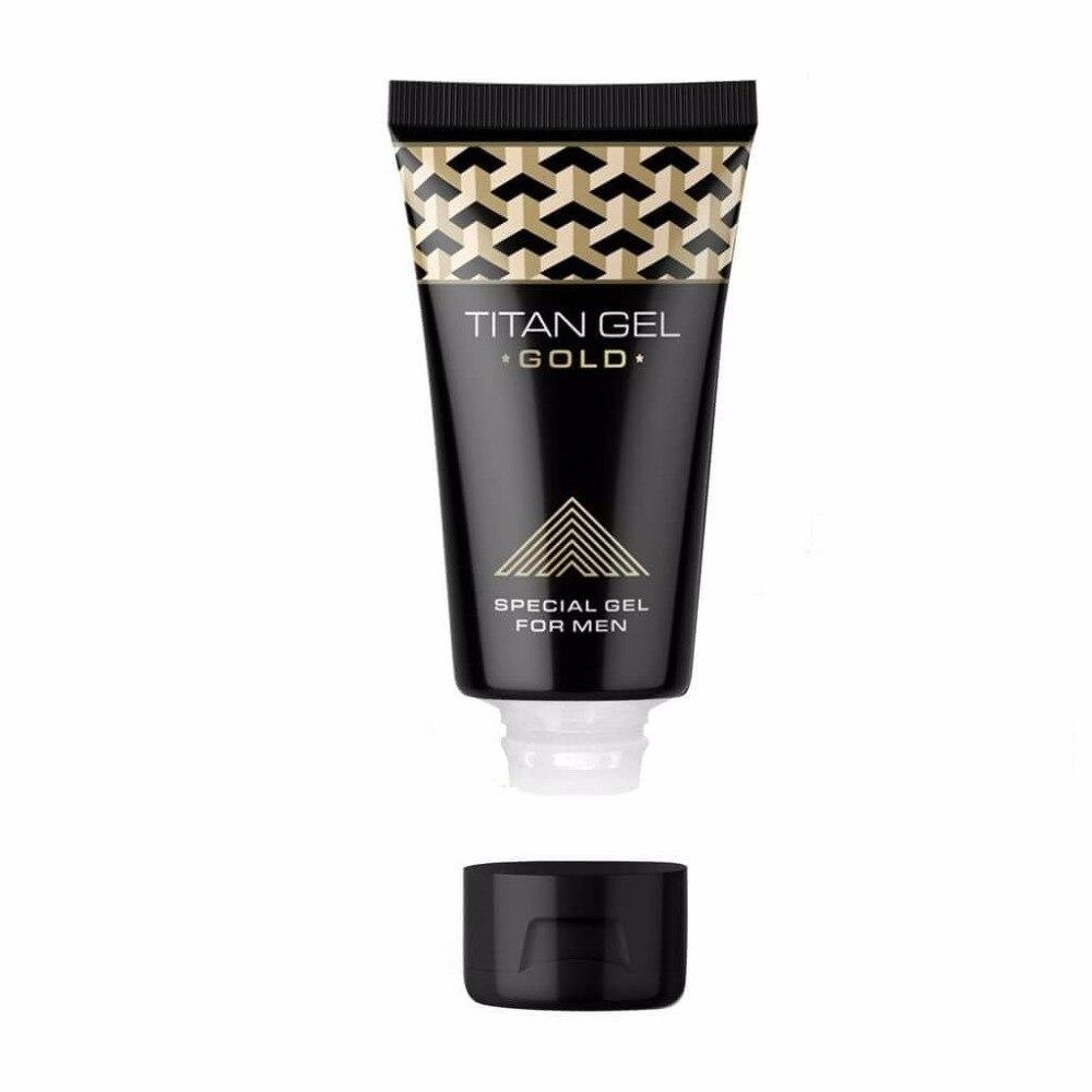 1pc New Titan Gold Gel Provocative, Cream Retarder Intim  Gel Time Delay Erection Cream Adult  2018