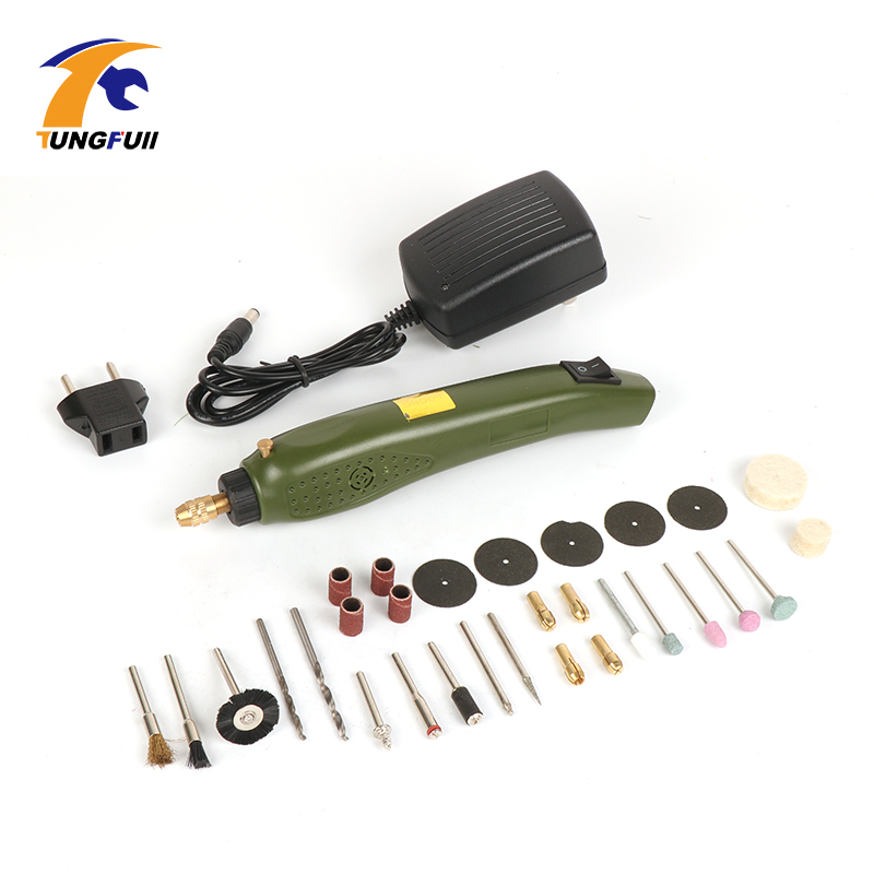 Tungfull Mini Electric Mini Drill Multifunction Engraving Machine Electric Tool Kit For Dremel Kit Engraver Mini Drill With Part 80pcs electric mini drill grinder polish sanding multifunction engraving machine electric tool set kit dremel bit case with box