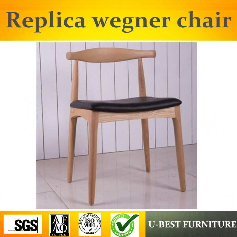 U-BEST Ash wood PU cushion modern wood dining elbow chair,North European Style Dining Chair Replica Hans Wegner chair u best modern fiberglass bar chair dining chairs with fabric cushion designer classic tulip dining chair