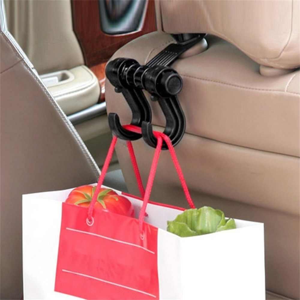 Taşınabilir Araba Koltuğu Arka Depolama Kanca Çeşitli Eşyalar Askı Çanta Tutucu Evrensel Çok Fonksiyonlu araba kanca Raptiye ve Klip