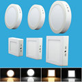 6W 12W 18W 24W LED Ceiling Light Surface Mount Square Surface Mounted LED Panel Light SMD2835 Indoor Lighting For Bathroom