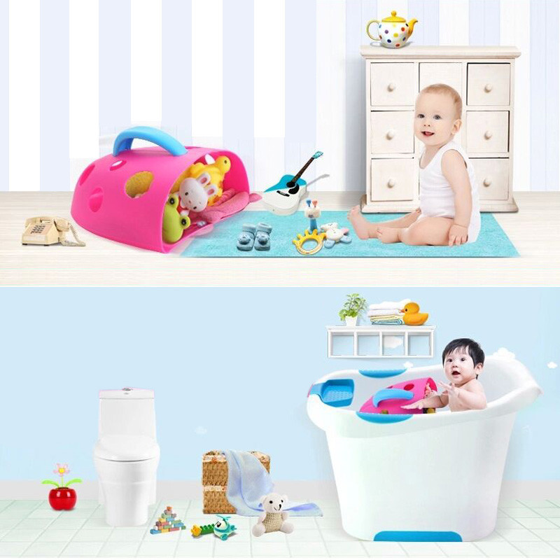 Wall Hanging Bathroom Organizer In Funny Toy Type For Kids To Store Comb And Body Lotion 9