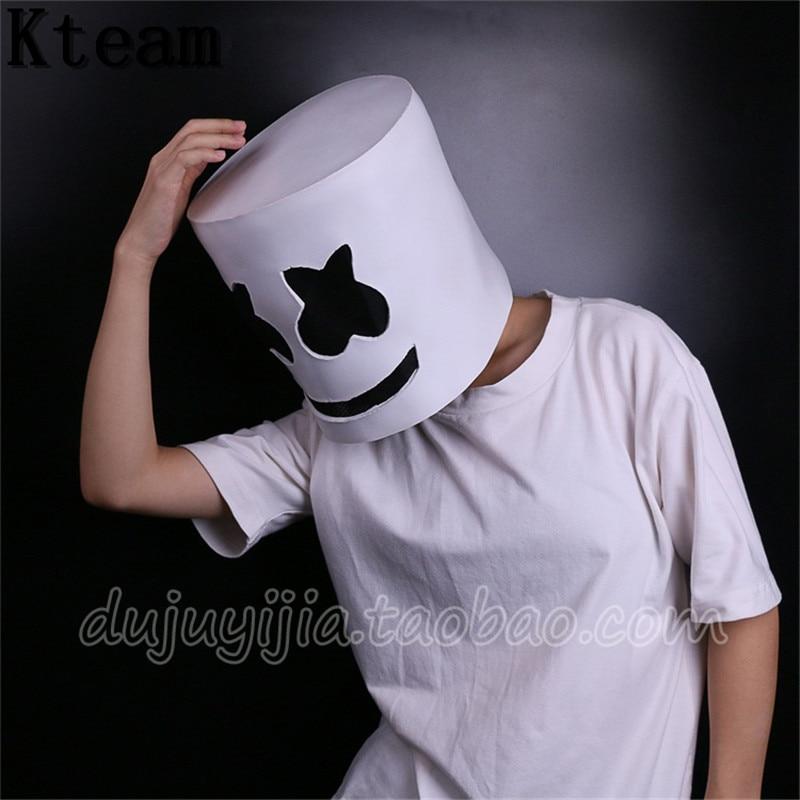 Marshmello Helmet Cosplay Scales4u