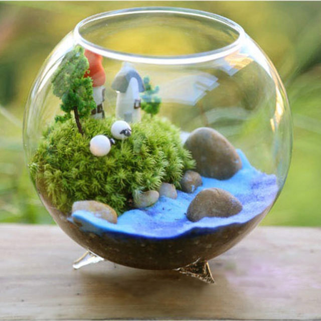 Decorative Glass Balls For Bowls Impressive Online Shop Diameter  8Cm 12Pcspack Three Legs Glass Vase Home Review
