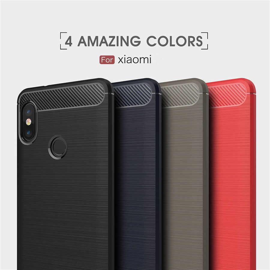Xiaomi Redmi 注 5 ケースプロカバーシリコーン Redmi 注 6 プロ 3 4 4X 5A 6A F1 Tpu バンパー耐震バックカバー頑丈なケース