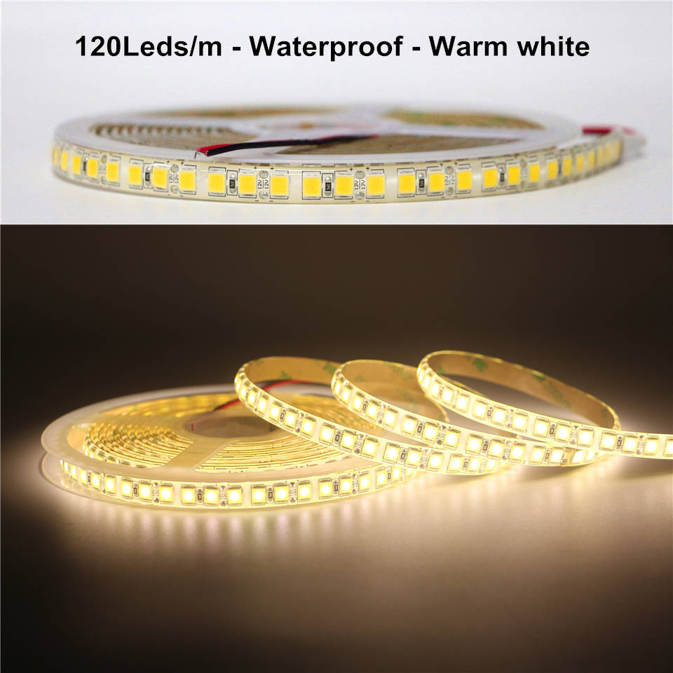 Lights & Lighting New Smd 5054 Led Strip 5m 120leds/m Flexible Tape Light Dc12v More Bright Than 5050 2835 5630 Ribbon Tape Home Decoration Lamp Led Strips