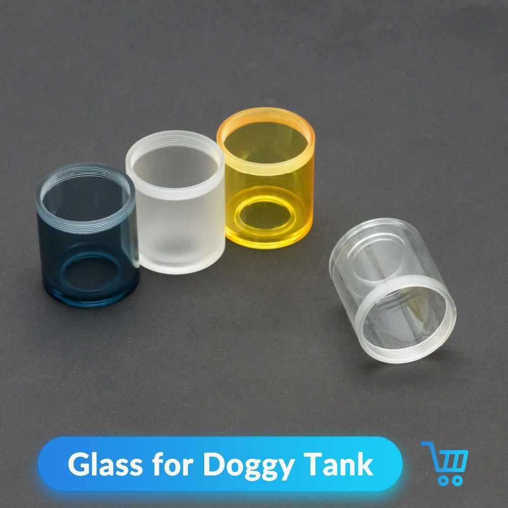 Volcanee Yedek Cam Tüp için Yedek Köpek Tarzı Tankı RTA RDA Atomize Elektronik Sigara Vaporizador Vape Aksesuarları