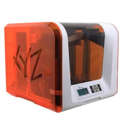Nouveau Davinci mini imprimante 3D mise à niveau automatique XYZ impression grande taille micro imprimante freebies filamento nano crealité accueil introduction