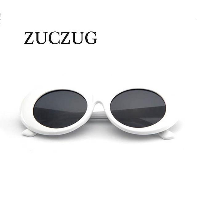 ZUCZUG mujer gafas de sol ovaladas de moda NIRVANA Kurt Cobain gafas de sol  hombres mujeres. Sitúa el cursor encima para ... d37ae134799c