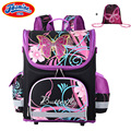 JASMINESTAR Children's Backpack Kids Cartoon School Bags For Boys Anime School Backpack For Girls Orthopedic Schoolbag
