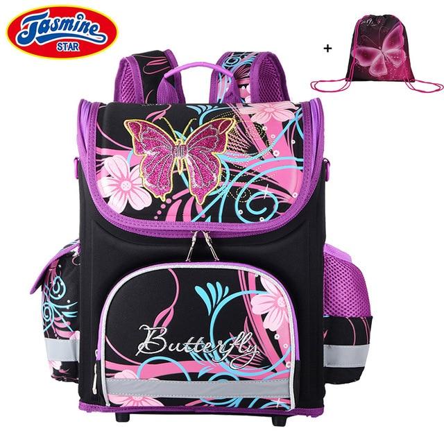 JASMINESTAR dzieci plecak dla dzieci kreskówki torby szkolne dla chłopców Anime plecak szkolny dla dziewczynek tornister ortopedyczne