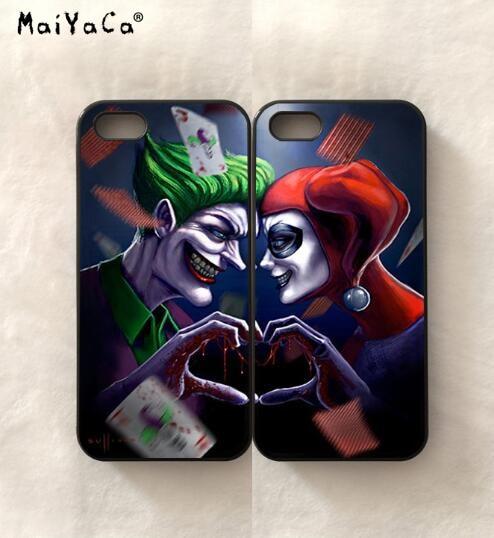 BFF joker love harley quinn pair lover silicone soft phone