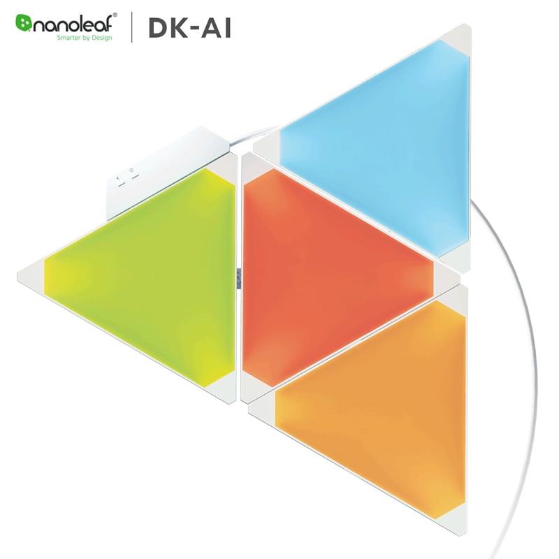 オリジナル Nanoleaf オーロラフルカラースマートライトボードリズム版 Xiaomi Mijia アップル Homekit Google ホーム拡張  グループ上の 家電製品 からの スマートリモコン の中 1