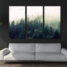 Bild landschaft leinwand malerei Wand kunst die wald poster und drucke hause dekoration malerei kunstdruck auf leinwand kein rahmen