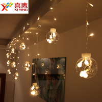 Direct Manufacturers Decoration Curtain Lights LED Lights Flash Lamp Outdoor Layout Mantianxing Small Bulb