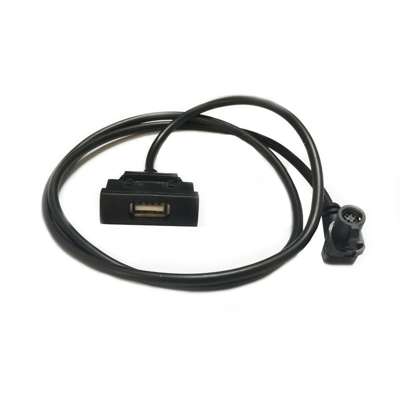 RCD510 RNS315 CD wechsler USB interface kabel adapter für Skoda Octavia USB kabel audio eingang adapter