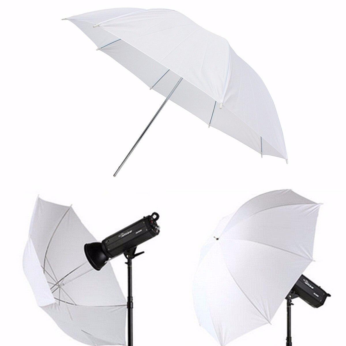 43 inch Photography Studio Video Photo Light Umbrella White Translucent Diffuser flash Soft Umbrella Accessories