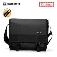 Swiss Brand14 Inch Laptop Shoulder Bag Men Waterproof Wear Resistent Business Bag Messenger Shoulder Bag SW9403