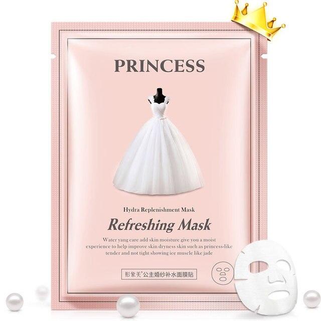 BIOAQUA принцессы Hydra питательная маска воды ян уход добавить влажности кожи освежающий поры Корейская косметическая маска Уход за лицом