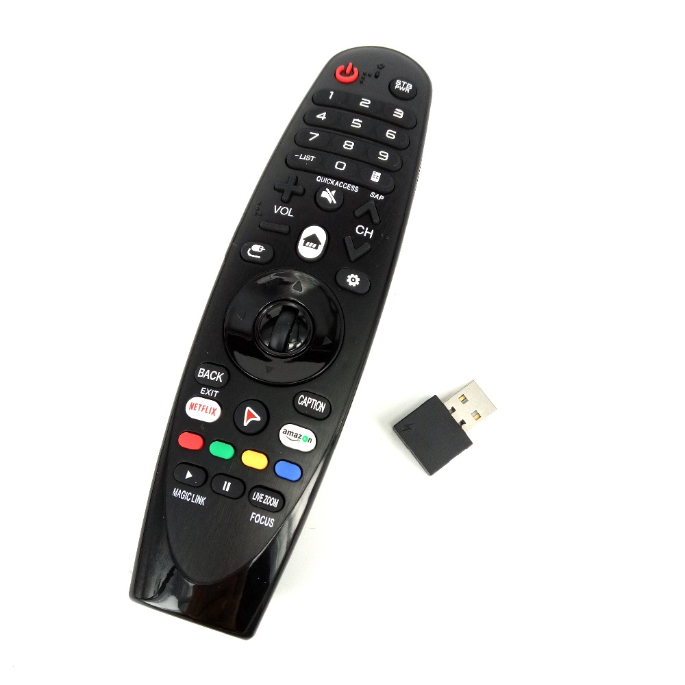 Image 2 - NEW AM HR650A AN MR650A Rplacement for LG Magic Remote Control for Select 2017 Smart television 55UK6200 49uh603v FernbedienungRemote Controls   - AliExpress