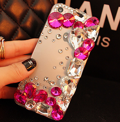 Luxury Rhinestone Diamond Bling Phone Cover Case For IPhone 4 4S 5 5S 6 6S 6Plus