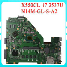 F552CL X550CL motherboard X550CL REV2.1 Mainboard Graphic N14M-GE-S-A2 i7 3537U Processor 100% test