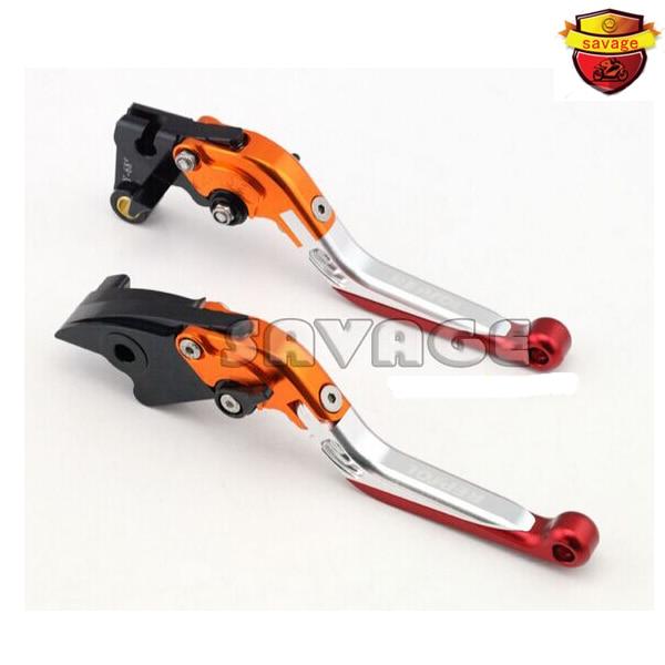 ФОТО Special CNC Adjustable Folding Extendable Brake Clutch Levers For HONDA CB1000R 2008-2014, CBR1000RR / Fireblade 2004-2007