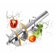PC Meat Grinder Screw Mincer Meat Grinder Parts Meat Grinder Bades 5 pcs high quality meat grinder parts for axion plastic sleeve screw kitchen appliance parts