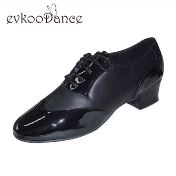 Size US 4.5-13.5 Zapatos De Baile Heel Height 4cm Black White Brown Leather Professional Woman Dancing Shoes Latin Shoes ML008