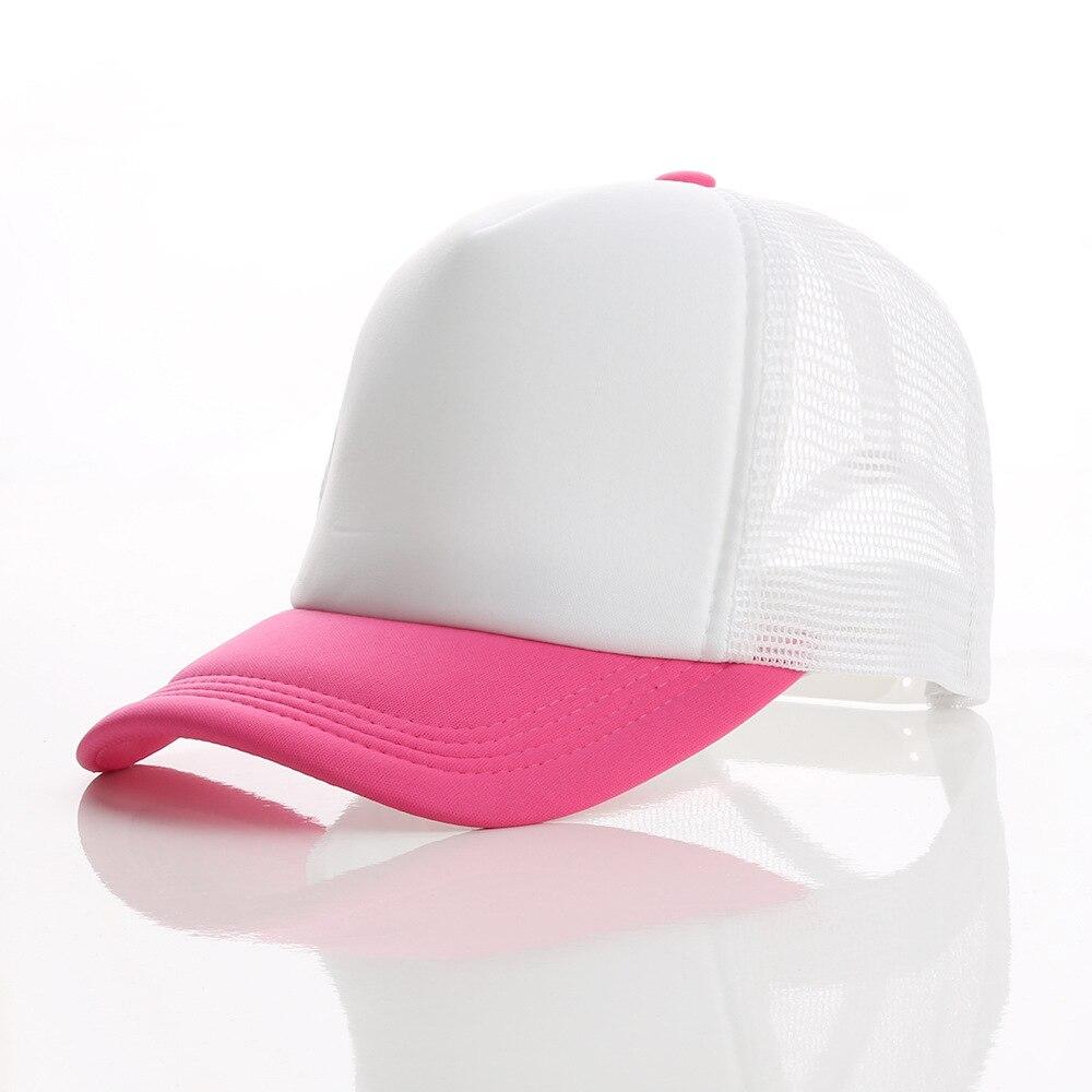 Gorra de béisbol con logotipo personalizado a precio de fábrica, gorras de camionero de diseño de Personalidad Infantil para adultos, gorras de malla en blanco para hombres y mujeres - 2