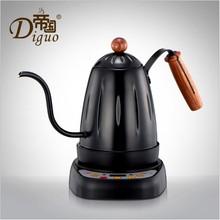 2017 kreative Wasserkocher Kaffeekanne Teekanne Feinen Mund Haushalts Lange Mund Wasserkocher Edelstahl Mode Heiße Kaffeekanne