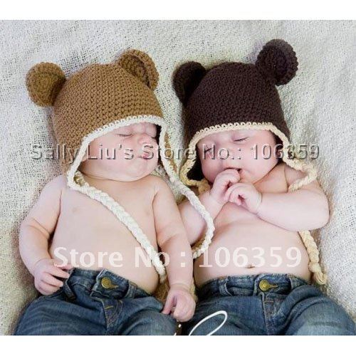 5e048c971f8 Knitted Baby Monkey Hat