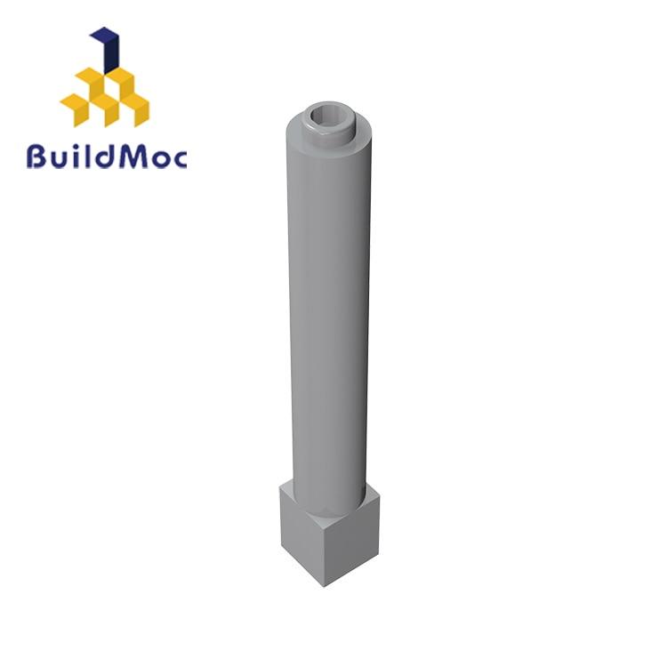 BuildMOC  Support  Technic 43888 1 X 1 X 6 Solid Pillar Building Blocks Parts DIY Educational Creative Gift Toys
