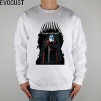 Game Of Thrones Stromtrooper Star Wars Clone Men Sweatshirts Thick Combed Cotton