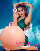 Male Masturbator,Dildo Inflatable Ball Magic Simulation Penis Adsorption Energy-Saving,Inflatable Sex Doll,Female Sex Toys